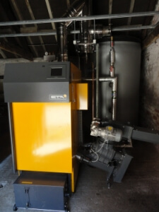 Biomass District Heating System