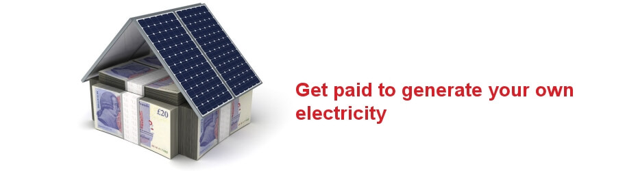 Get paid to generate your own electricity